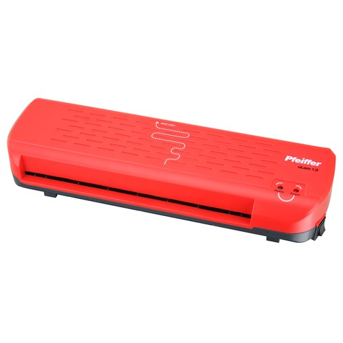 Pfeiffer A4 Laminator uLam 1.0 Red