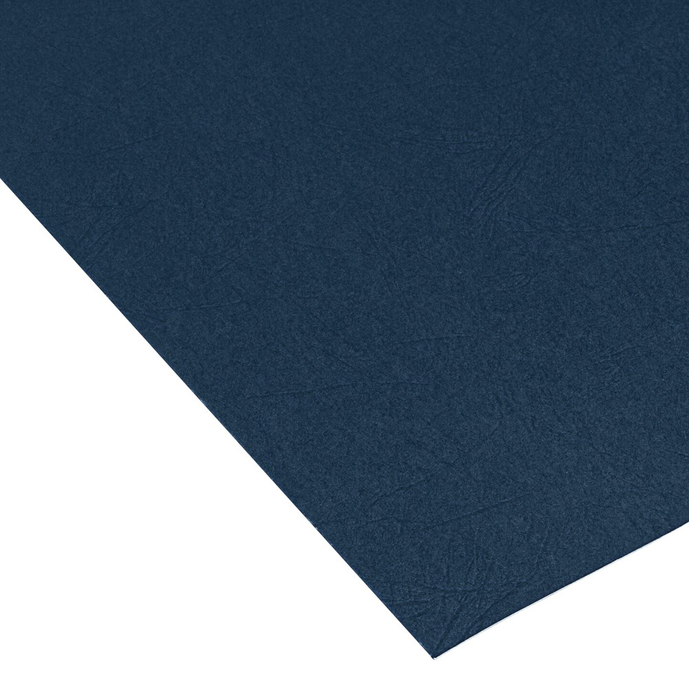 Navy A4 Leathergrain Covers 250gsm 100pcs by Pfeiffer Product