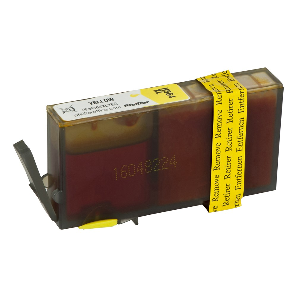HP 564XL Yellow Ink Cartridge by Pfeiffer Product