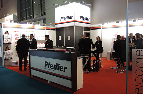 Pfeiffer stand at Paperworld Frankfurt 2016